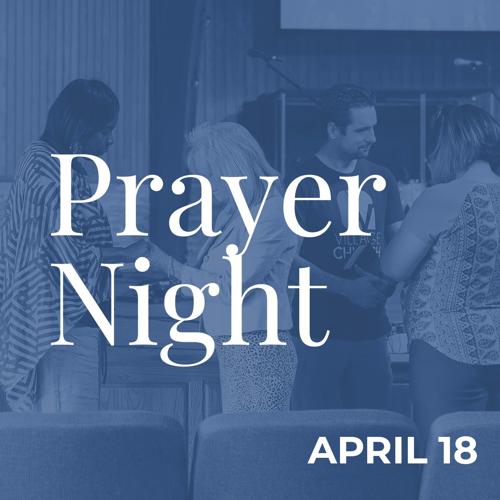 Village Church Prayer Night