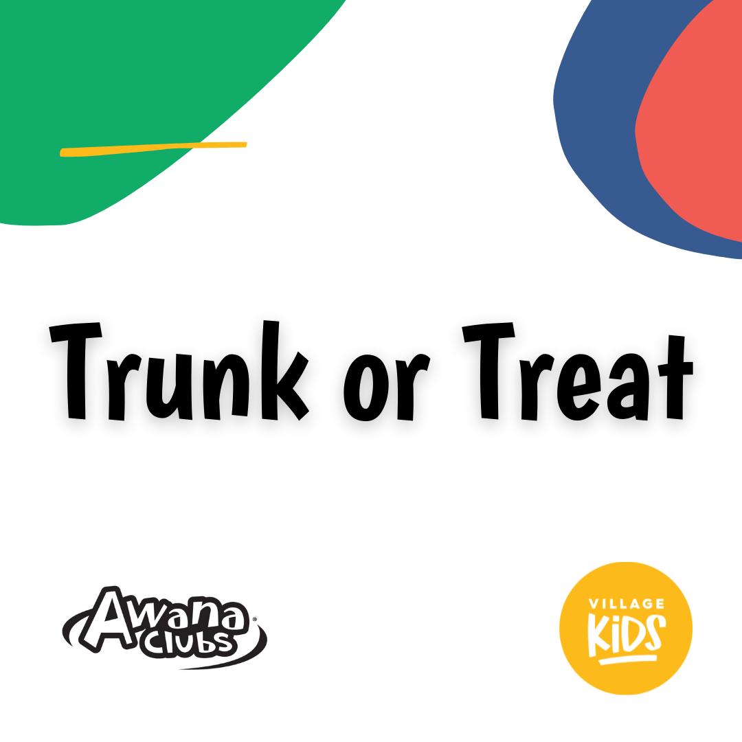 Awana Trunk or Treat